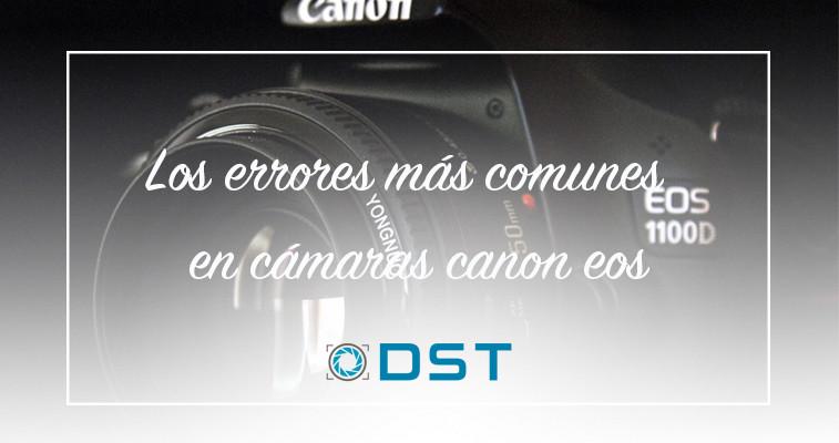 canon errores