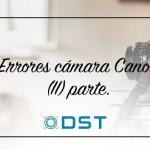 Errores cámara Canon EOS