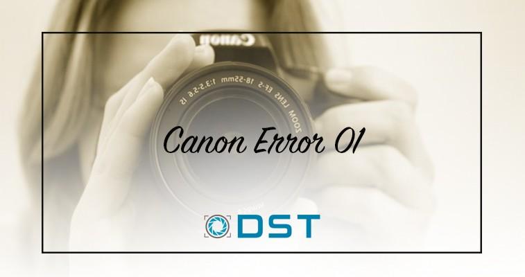 canon error 01
